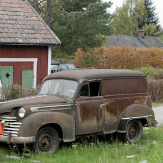 Opel Olympia: långparkerad låda