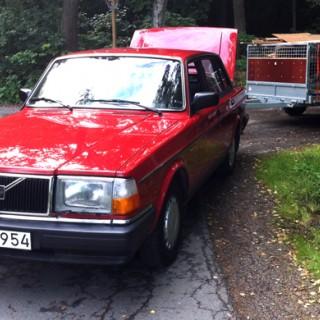 Volvo 240: Nu med varvräknare