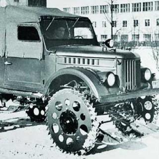 På biltur i inre Mongoliet 1934