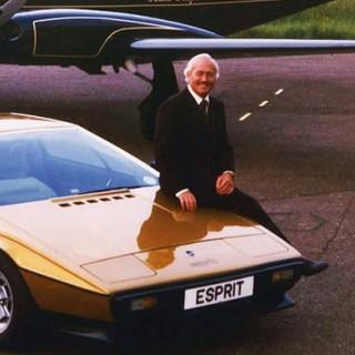 På Lotusfabriken med Colin Chapman
