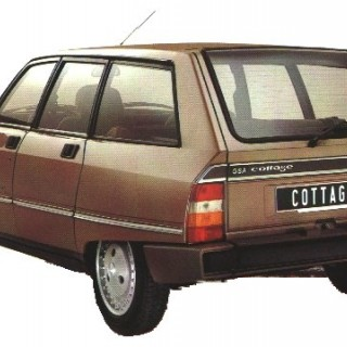 Grattis Citroën Dyane!