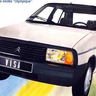 Grattis Citroën Visa!