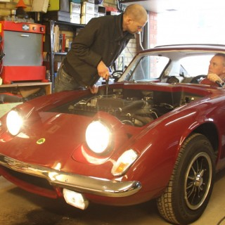 Ronnies Lotus Elan på auktion!