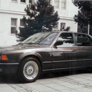 BMW Med lång näsa