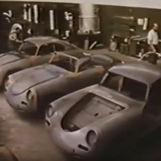 Porschetätt i Hedemora 1954!