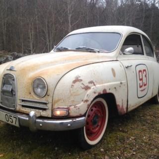 Saab och hjulet 1960