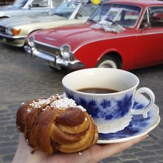 Se vår Saab på Frukostklubben!