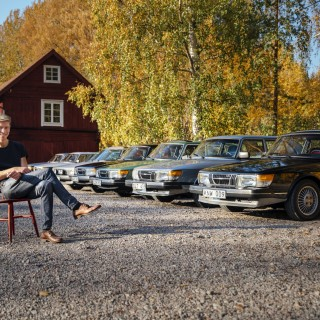 Kjell Bergqvist kör Saab - igen!