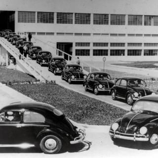 Så såldes Volkswagen i Sverige på 1950-talet