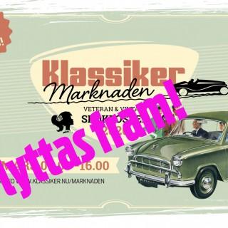 Sälj på KlassikerMarknaden den 15 mars!