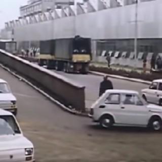 Stadsbil i stövlar