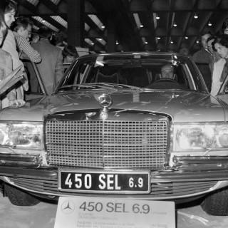 Mercedes – en fena till taxi!