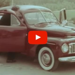 Fattig rallystjärna i Volvo PV