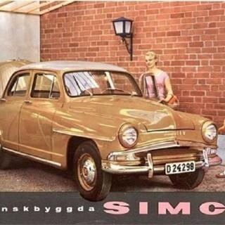 En Simca för nöje och transport