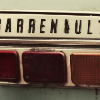 Renault med last fyller 40 år