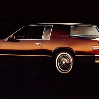 Den sista färden, med Cadillac