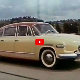 Carl Bildt åker Tatra T603-2!