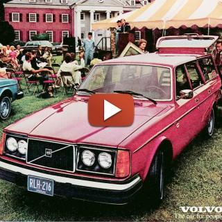 Film: Hans samlar Volvo på höjden!