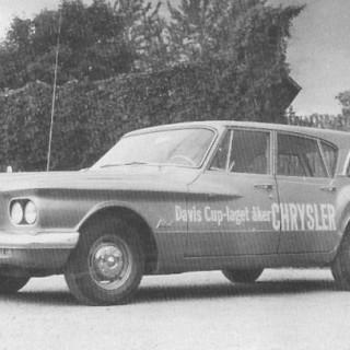 Plymouth mot strömmen 1961