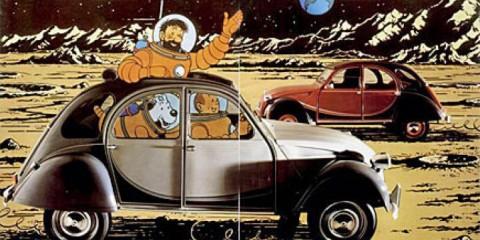 Till och med Tintin och Kapten Haddock kör Charleston.