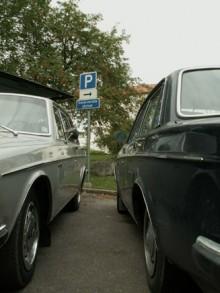 Kompisträff med Volvo 142.