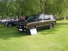 Range Rover Classic i sista utförandet. Detta fina ex väcker uppmärksamhet på utställningarna.