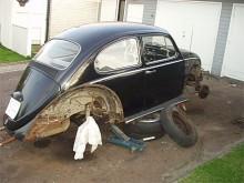 Martins första bil!