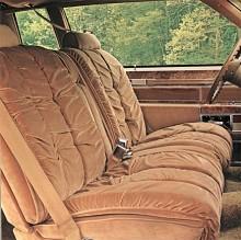 Mysig interiör, Electra 1980.