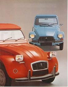 Dyane fick alltid stå lite i skuggan av den karismatiska 2CV:n och de marknadsfördes parallellt.