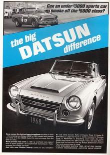 Nästa generation visste mer vad den ville. Lite Spridget, lite Triumph, mycket snygg! Detta är en 2000 Sports 1968.