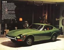 Den bil som satte Datsun på kartan som sportvagnstillverkare var 240Z. I Japan hette den Fairlady.