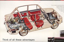 Rootes valde att slå in på svansmotorvägen som en av de sista tillverkarna.