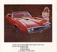Börja med toppmodellen och jobba dig nedåt rådde Pontiac kunderna när de skulle prova vilken modell som passade bäst.
