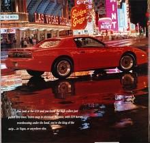 Trans Am GTA 1989 i Las Vegas, vilken dröm!