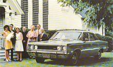 1967 återkom Rambler Rebel, året efter bytte den namn till AMC Rebel. En mellanklassare som trots sitt namn inte direkt riktade sig till några samhällsomstörtare…