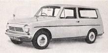 Små bilar från  Reliant brukade vara trehjuliga, Rebel var en riktig rebell, riktade sig till de som faktiskt hade körkort. Här är kombin.