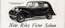 Riley Victor blev företagets sista modell som fristående tillverkare.