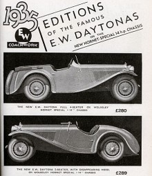 Wolseley Hornet 1935.