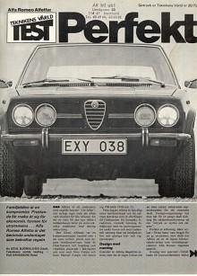 När Stig Björklund testade Alfetta i Teknikens Värld valde han en kort och koncis rubrik. Kommer en ny Alfa att hyllas lika förbehållslöst i Sverige igen? Knappast.