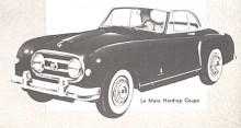 Nash-Healey fanns som täckt coupé...