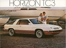 I USA fanns även en sportcoupé byggd på samma plattform, kallad Plymouth Horizon TC3, presenterad 1979.