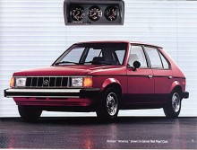 Plymouth Horizon 1987.