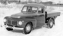 Flera olika karossmakare framställde små lastbilar på 445-bas. Denna är kommer från Klippan.