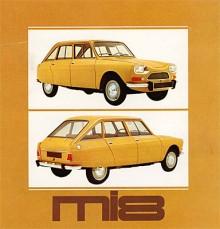 Efterträdaren hette Ami 8, i Sverige mi 8, och kom 1969 då Ami 6 fasades ut. Den nya bilen hade ett utslätat nosparti och fick fastback i stället för den inverterade bakrutan. Motorn gav nu 35 hk.