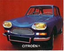 Inte ens med den nya fronten såg Ami 8 särskilt konventionell ut. Ami 8 var bas för M35, Citroëns första (och näst sista) bil med Wankelmotor som tillverkades i 257 exemplar 1969-1971.
