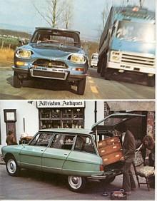Ami Super dök upp som 1973 års modell och hade den från GS kända fyrcylindriga motorn på 1015 cc. Framifrån kändes denna raket igen på ett emblem i grillen och luftslitsar under denna.