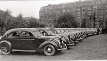 Statspolisen tar 1936 leverans av 18 nya Carioca, samtliga mörkblå.