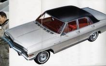 Ganska lik Chevrolet Chevelle var Opel Diplomat A.
