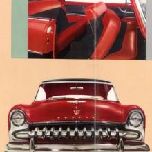 Samma broschyr som för Plymouth 1955, men en De Sotogrill har retuscherats in.