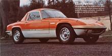 Elan Coupé här i Sprintversion med något högre effekt och stripes på sidan.